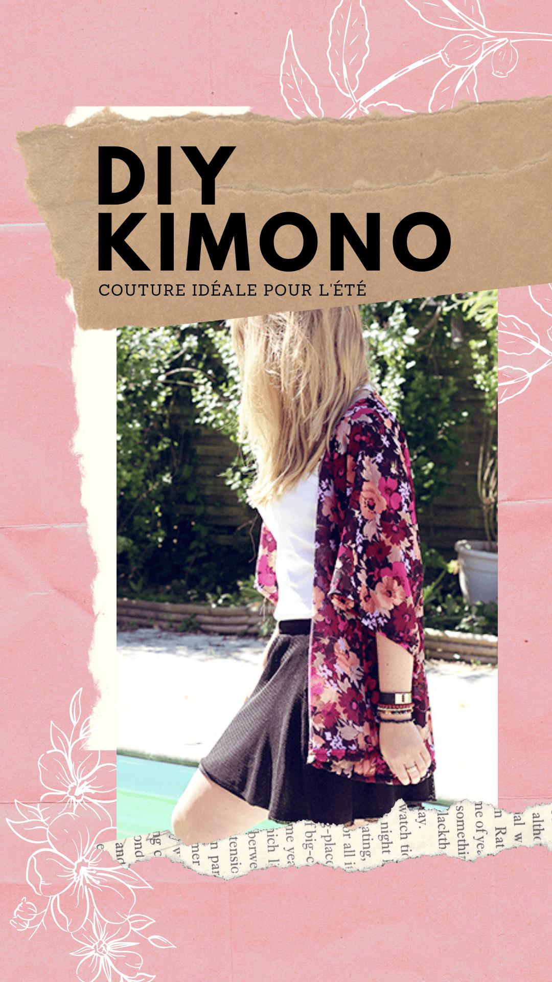 Tuto couture : coudre un kimono pour l'été